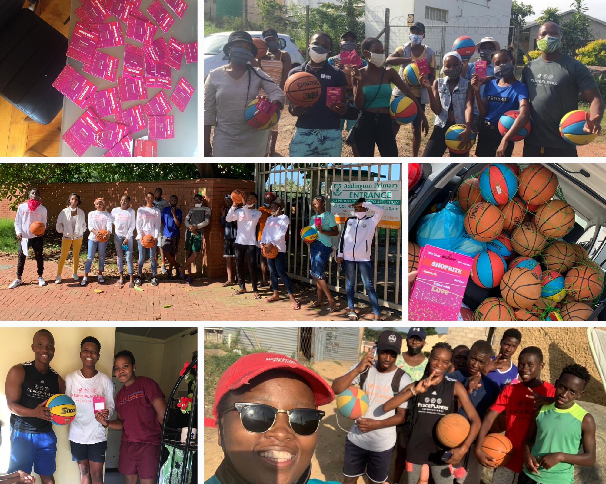 peaceplayers south africa covid story