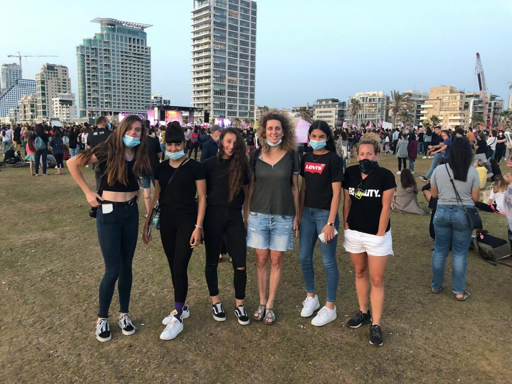 Middle East Girls Protest 1