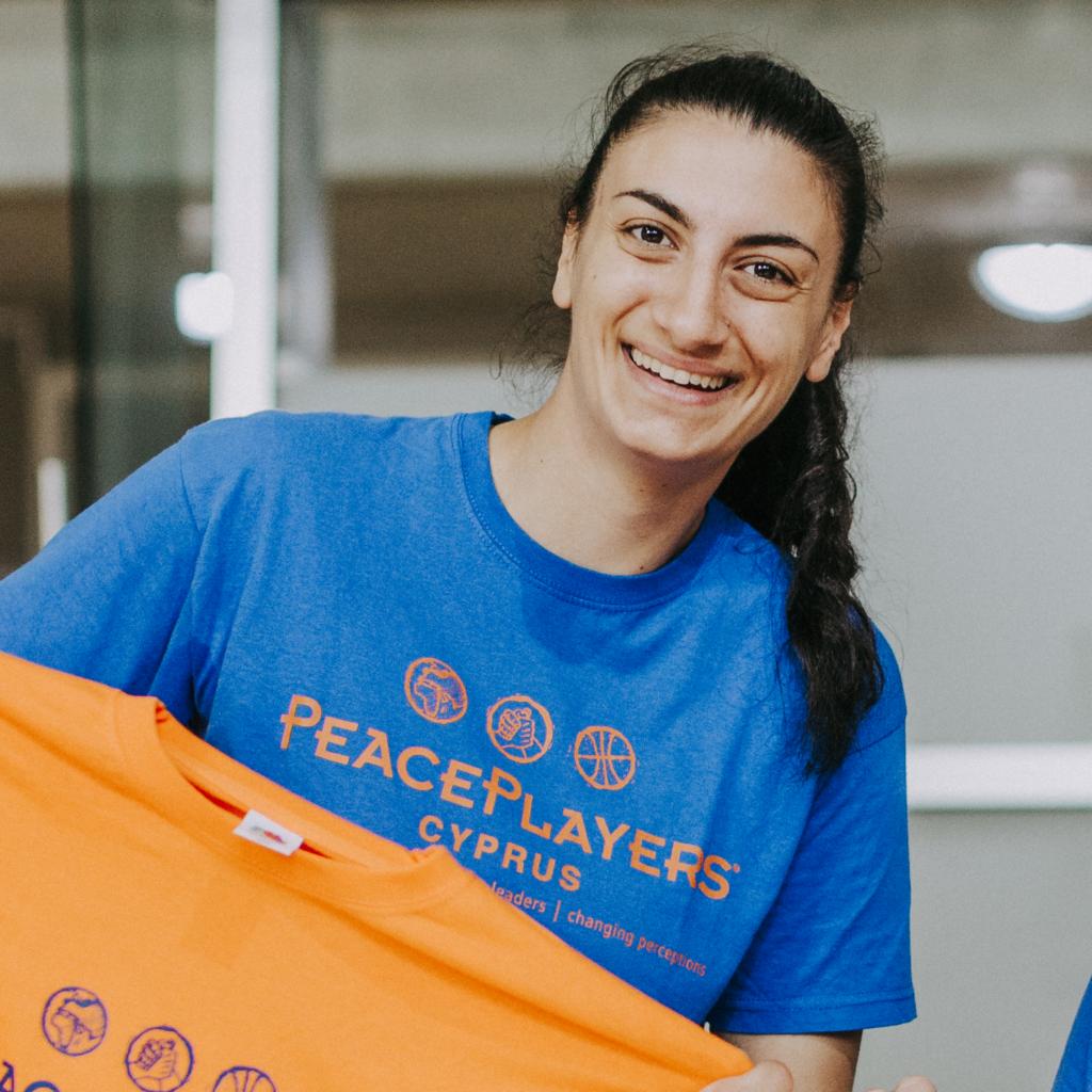 Stephanie Nicolas, PeacePlayers Cyprus