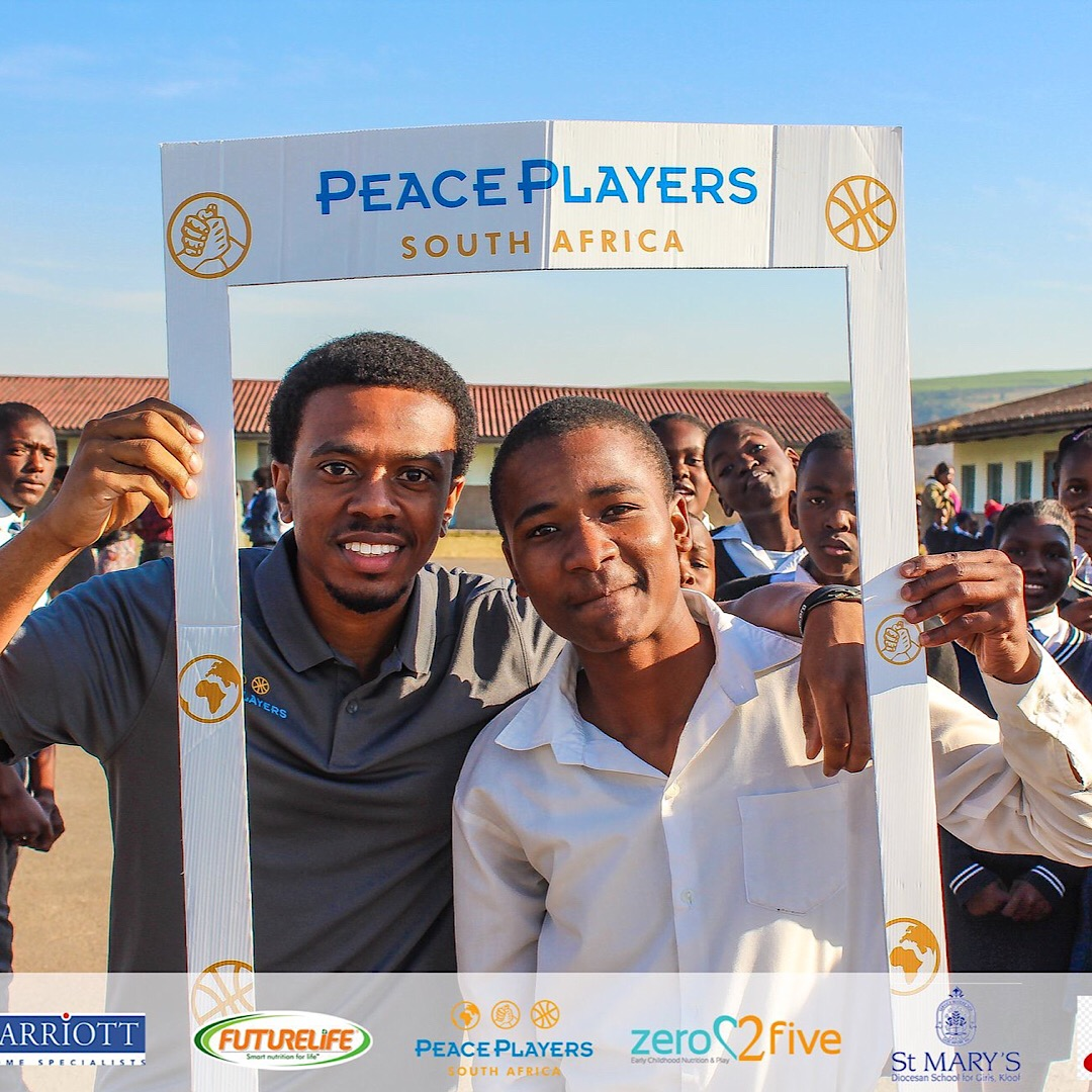 Douglas Nedab, PeacePlayers South Africa