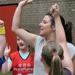 Joanne Fitzpatrick, PeacePlayers Northern Ireland