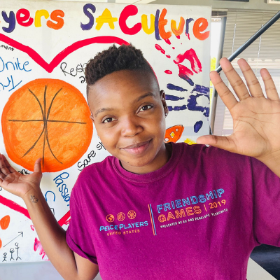 Noluthando Msweli - PeacePlayers South Africa