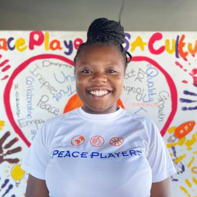 Enicia Tshibanda - PeacePlayers South Africa