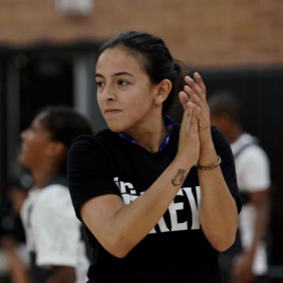 Coach Natalie Gutierrez
