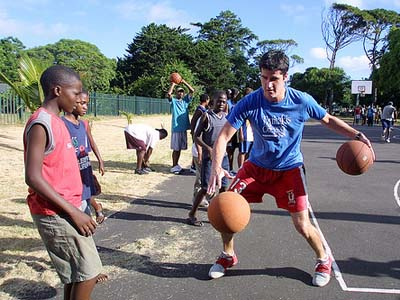 Sean Tuohey Founder of PeacePlayers