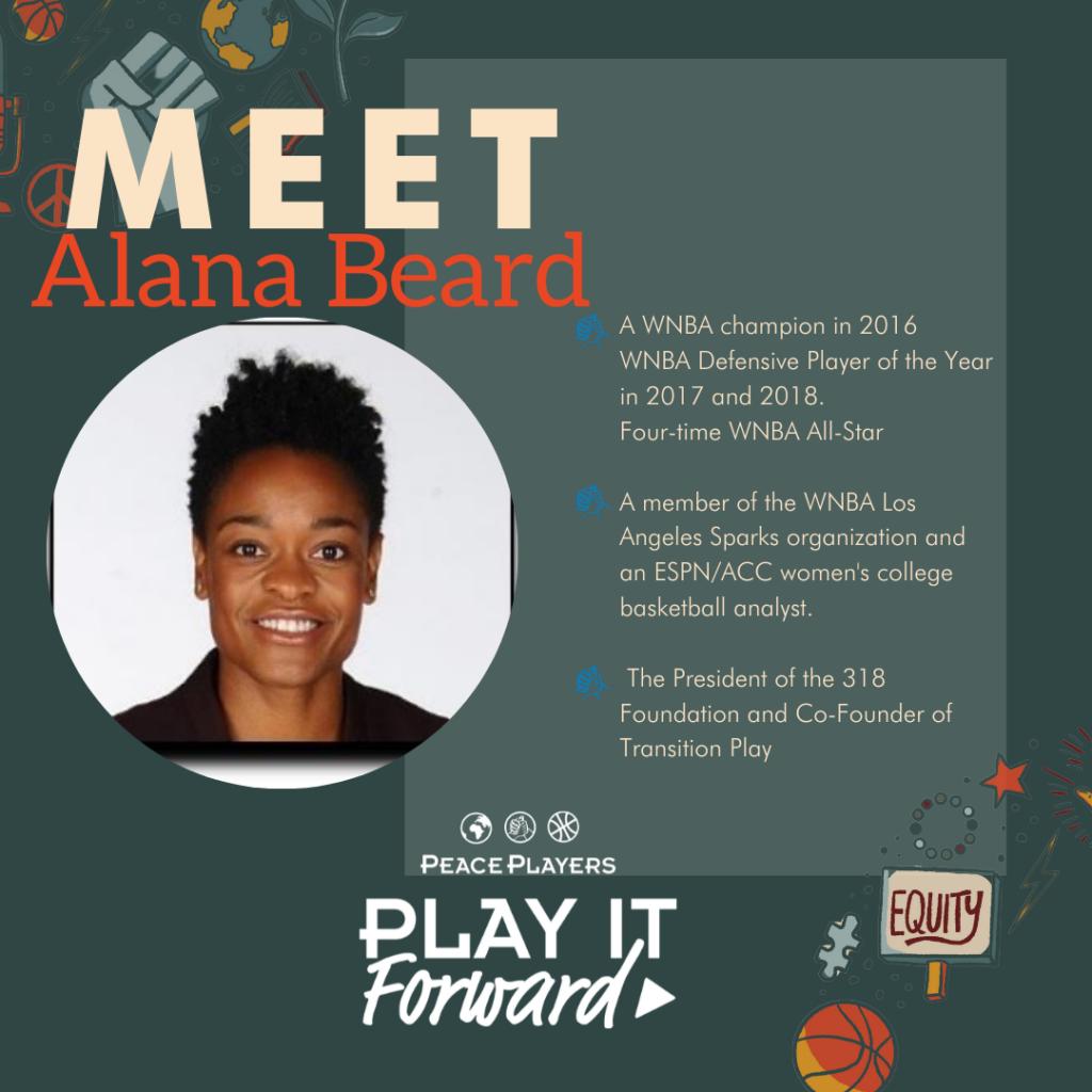 Alana Beard WNBA Podcast Guest