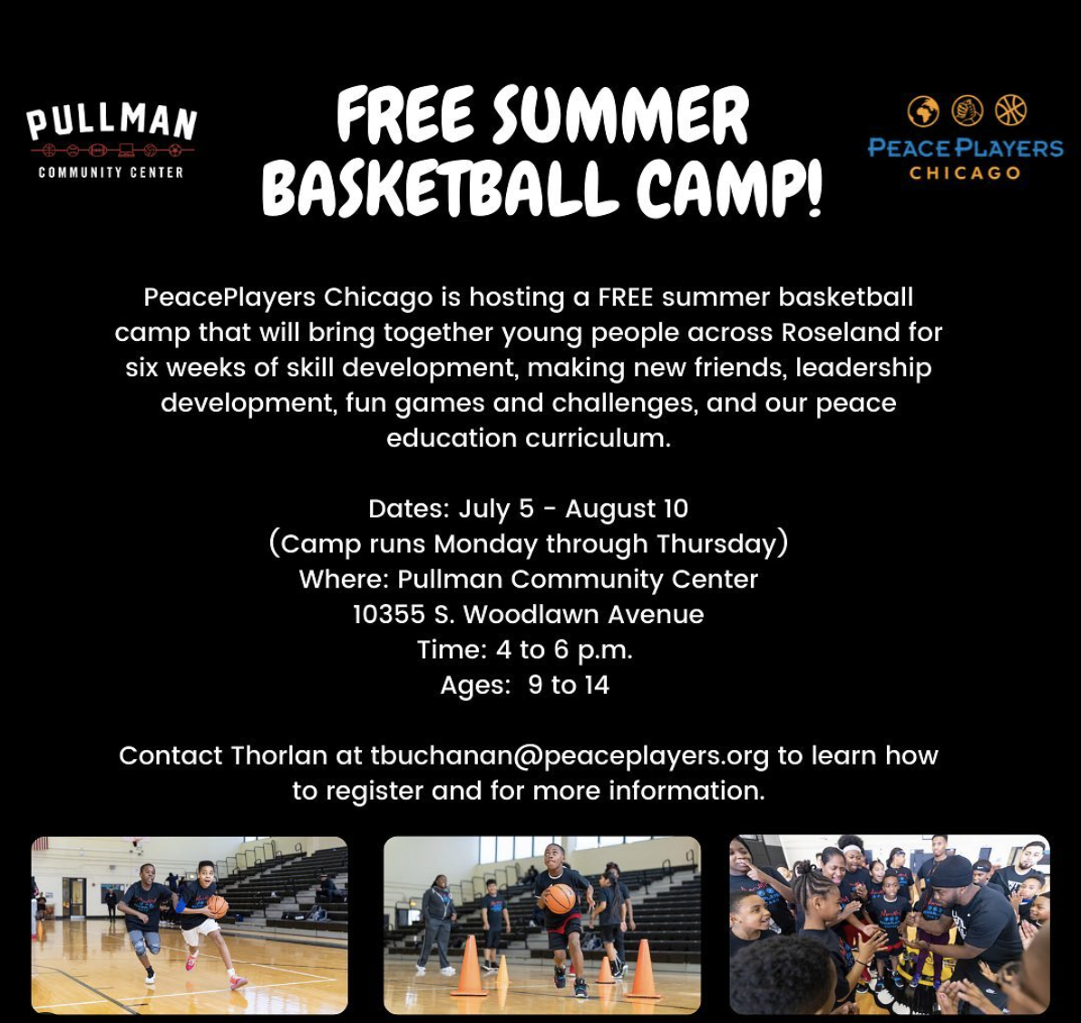 PeacePlayers Chicago 2021 Summer Camp