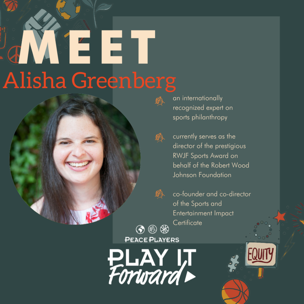 Alisha Greenberg, Play It Forward Podcast