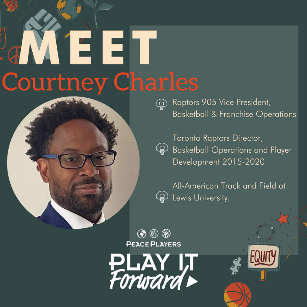 Courtney Charles, Play It Forward Podcast