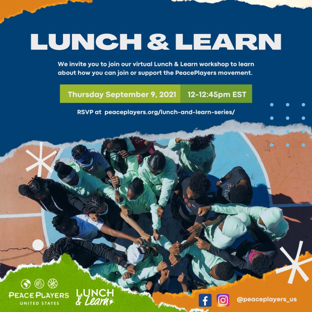 Lunch & Learn Digital Invitation