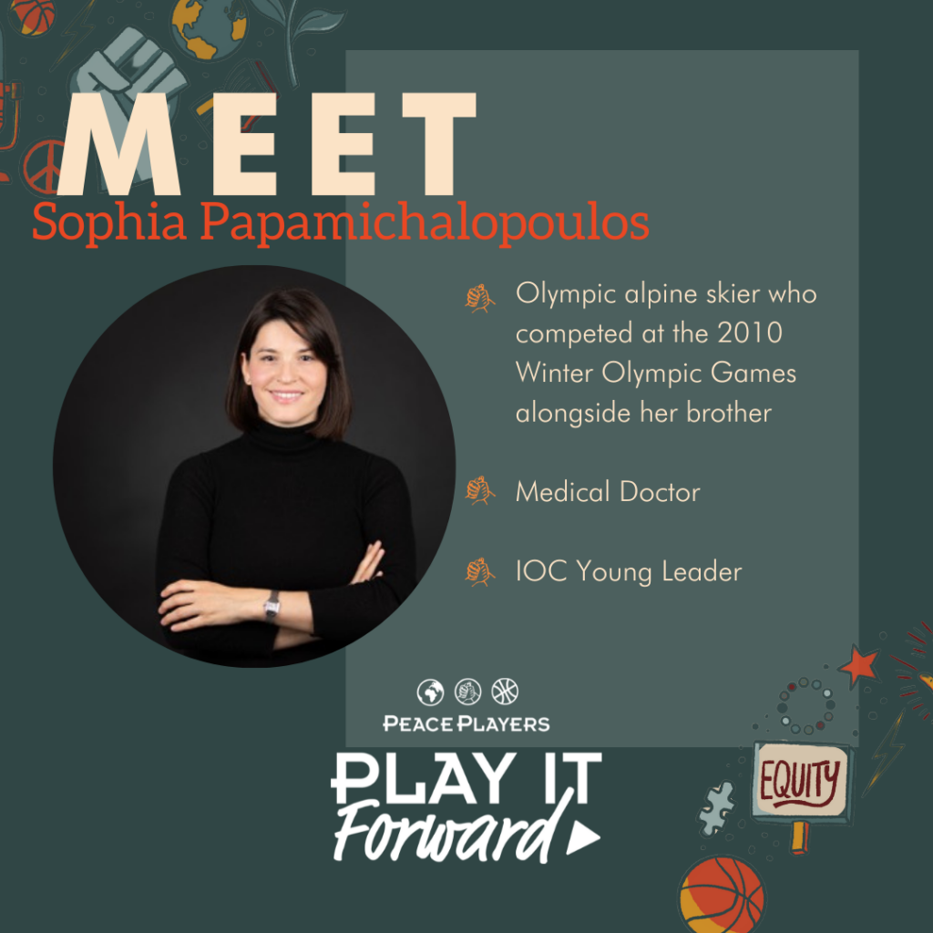 Sophia Papamichalopoulus, Play It Forward Podcast