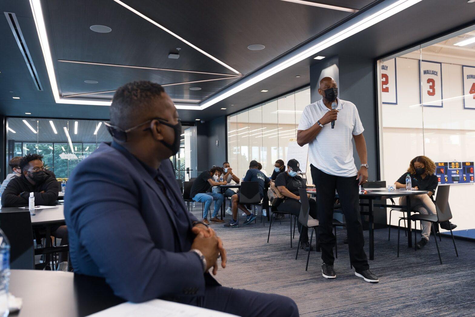 Detroit Pistons Community Conversation 1